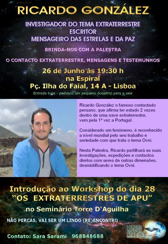 Workshop do Ricardo Gonzalez na Torre da Aguilha