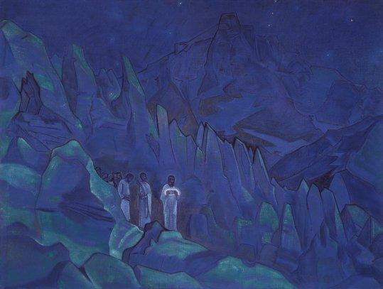 El Código Roerich y la Piedra de Chintamani (movido relación pax esferas y BSP)- PARRAVICINI Y LOS 3 CÍRCULOS Burning_the_darkness_1924